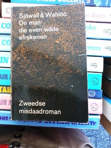 De man die even wilde afrekenen boek